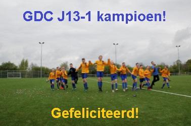 gdc J13-1 kampioen